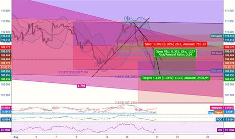 USDJPY: USD/JPY Short Position Last Wave (5)