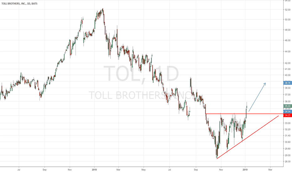 TOL: Gems in a bear market rally: The homebuilders