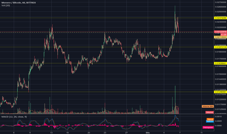 XMRBTC: monero retracement ?