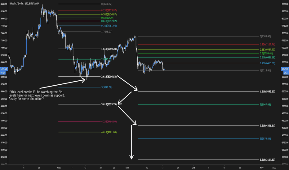 BTCUSD: Bitcoin pin action levels to watch