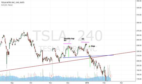 TSLA: double top?