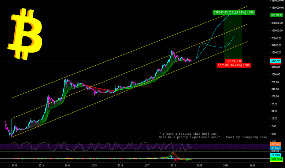 BTCUSD: WHAT NO ONE SEES - ONE IN A LIFETIME CHANCE - CryptoManiac101