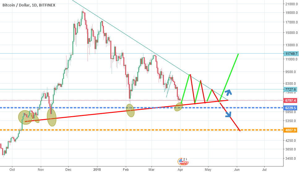 BTC bounce was predicted , what is next ?
