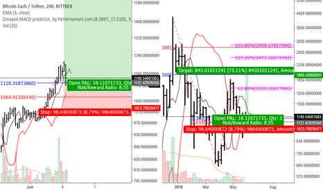 BCCUSDT: BCCUSDT SG Buy Week + PTN Buy H4