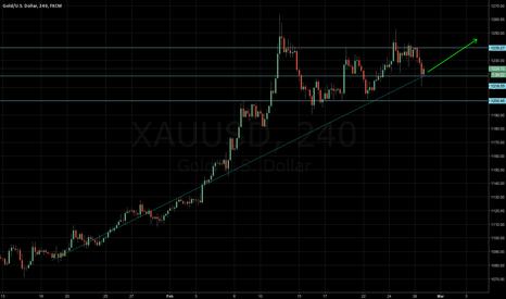 XAUUSD: Long on XAUUSD
