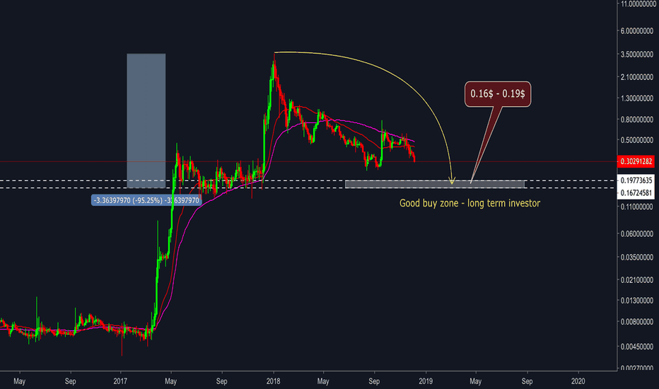 XRPUSD: Ripple (XRP/USD) - Buy zone for long term investor