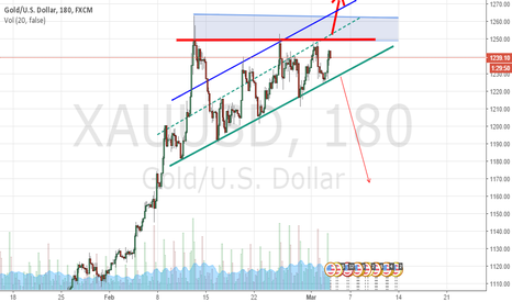 XAUUSD: just a bright idea for GOLD