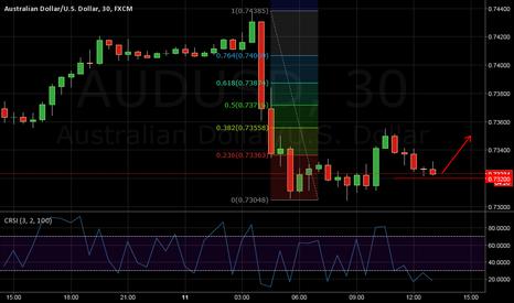 AUDUSD: AUD/USD little correction - up.