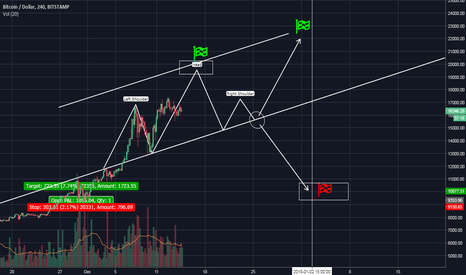 BTCUSD: A farewell surge before a serious correction or a smooth growth?