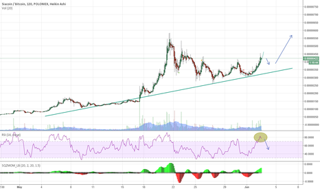 SCBTC: Siacoin possibly going up further