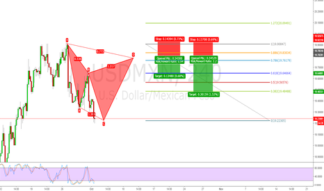 USDMXN: Bearish Gartley