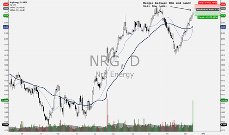 NRG: Selling the news