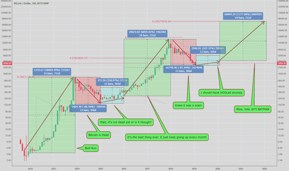 BTCUSD: LONG LONG Term BTC Prediction/Market Cycle
