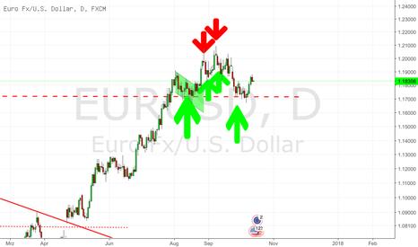 EURUSD: EURUSD At The Crossroads