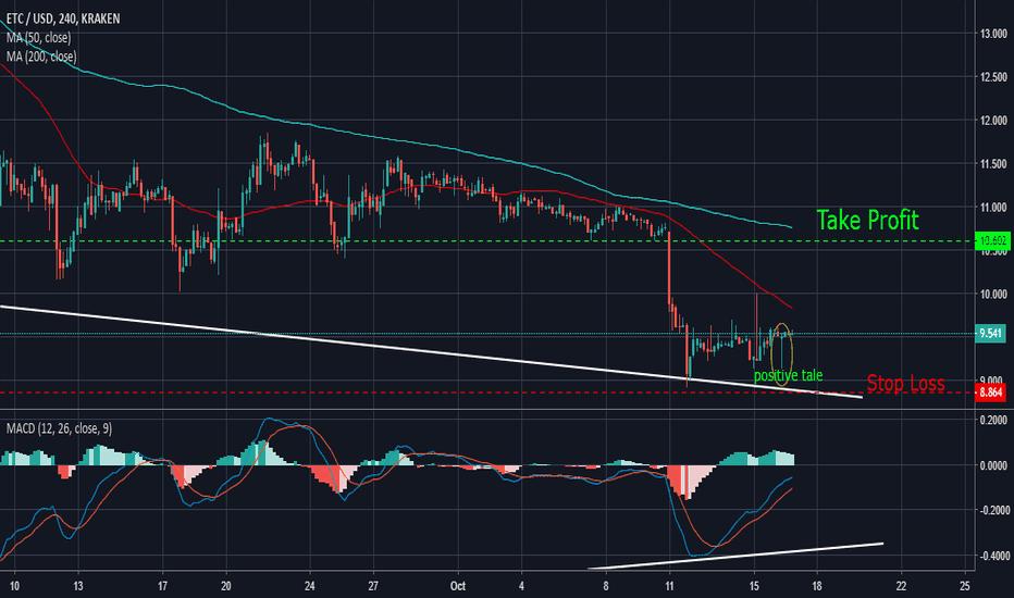 ETCUSD: ETC/USD Strong Buy