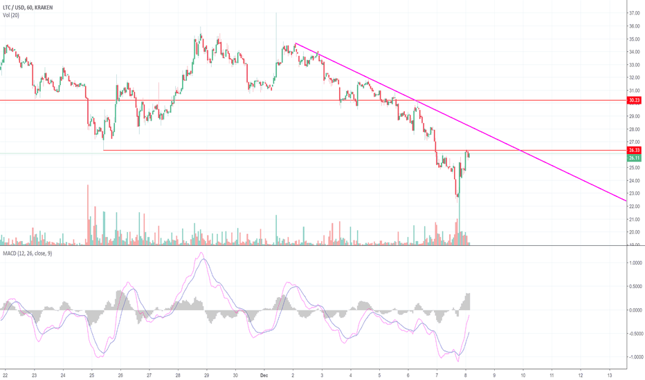 LTCUSD: A Quick Short-Term Look at Litecoin! (LTC)