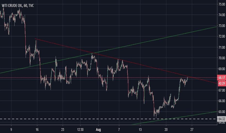 USOIL: US Oil Short term Resistance.