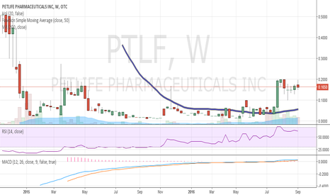 PTLF: $PTLF - flag pattern with a big time breakout level @ .20