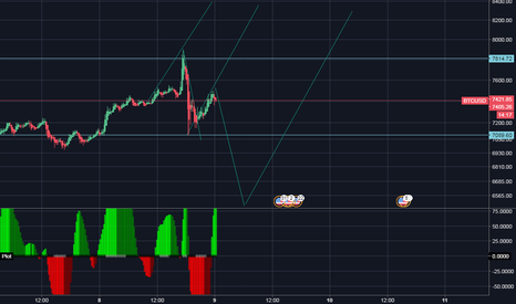 BTCUSD: short correction coming !!