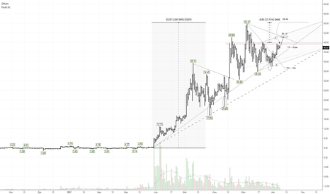LTCUSD: LTC/USD: цель по W- модели $56,46