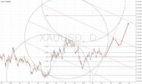 XAUUSD: gold a rialzo