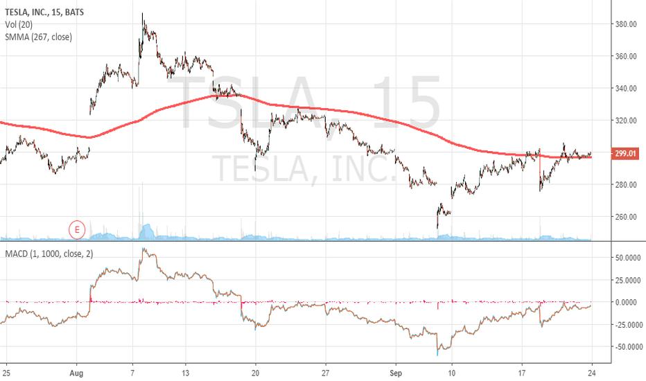 TSLA: TESLA if close above 305 USD... open Longs