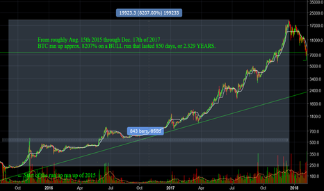 BTCUSD: BTC on a 8207% Bull Run