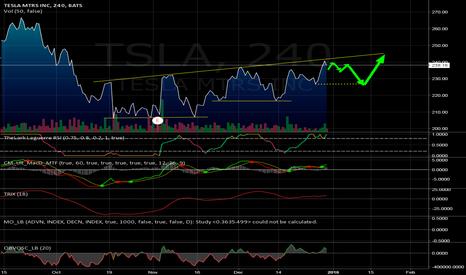 TSLA: $TSLA higher lows