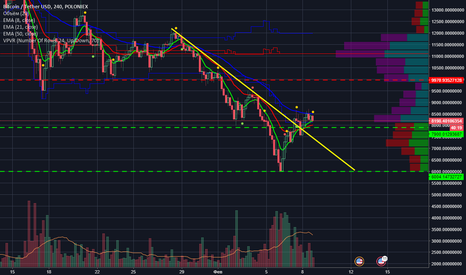BTCUSDT: BTC bottom, the beginning of a new trend
