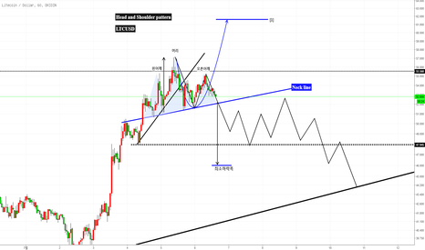 LTCUSD: LTCUSD 패턴형성 Head and Shoulder pattern