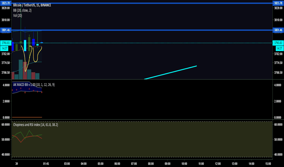 BTCUSDT: Adam and Eve on 1m on Bitcoin... learning patterns