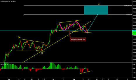 EURJPY: EURJPY Possible expanding flat