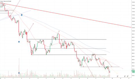 BTCUSD: BTC:USD 1 hour chart DAILY UPDATE (day 25)