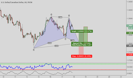 USDCAD: Gartley