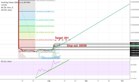 PAYBTC: TenX PAYBTC price projections. Levels.