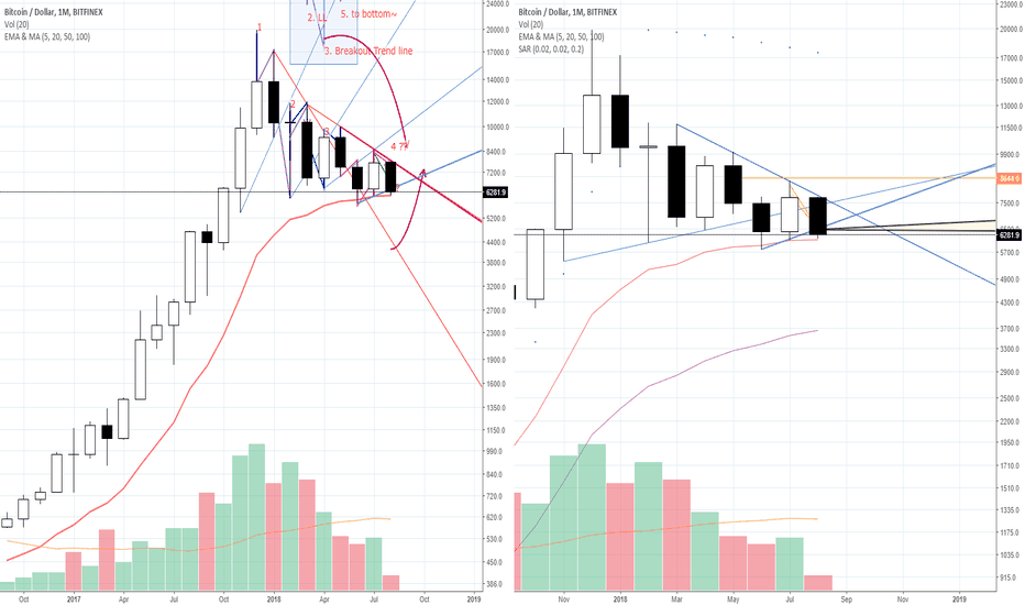 "BTCUSD: [Red Apple] ""Very Importance level on Monthly ""_BTC/USD_18.08.09"