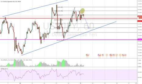USDJPY: Resistance hit on the 0.886 Fibs