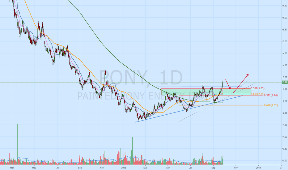 PONY: PONY.TO Another Canadian OIl & Gas company breaking out