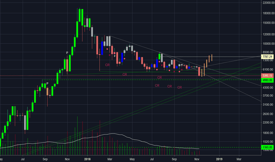 BTCUSD: im long blood is thick