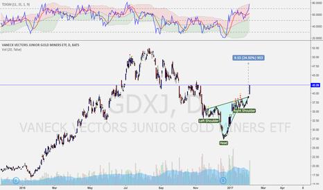 GDXJ: GDXJ price target
