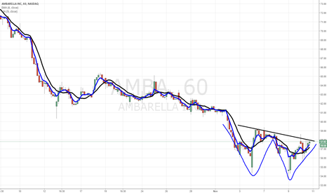 AMBA: $AMBA might be bottoming out