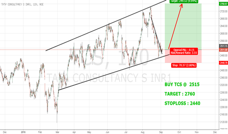 TCS: TCS : ENTER THE LONG TERM RIDE