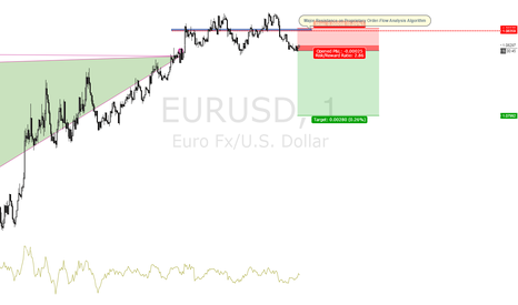EURUSD: EURUSD 1M ORDER-FLOW - Major Dynamic Support/Resistance
