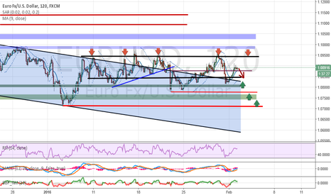 EURUSD: Analysis and forecasts for EUR / USD 02/02/16