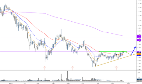 RXDX: We need a pullback first to respect this pattern