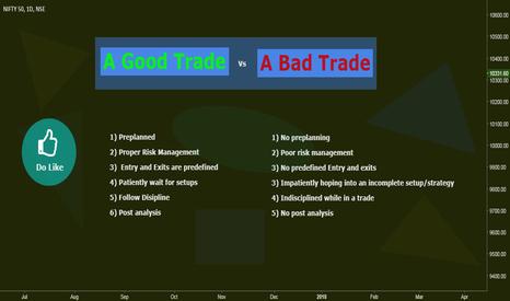 NIFTY: A Good Trade Vs A Bad Trade