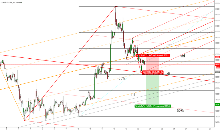 LTCUSD: Litecoin The Sell-Off Could Continue