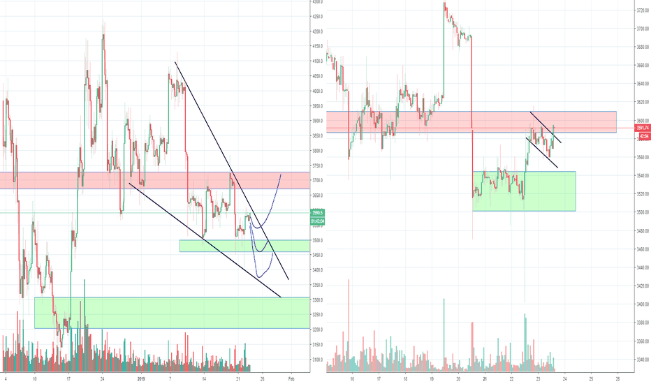 BTCUSD: Bitcoin Trying to make a Daily Reversal after Bear trap? Part 2
