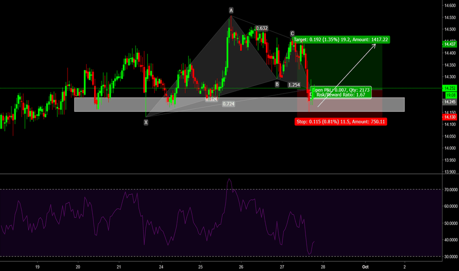 XAGUSD: Silver bullish set up
