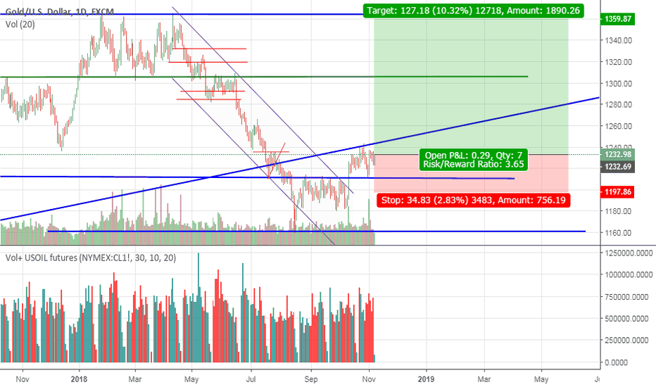 XAUUSD: Gold ready to go higher